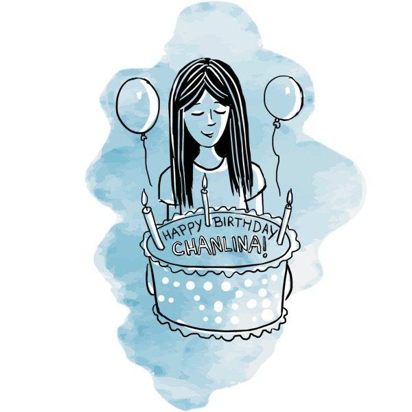 Illustration - Birthday Party